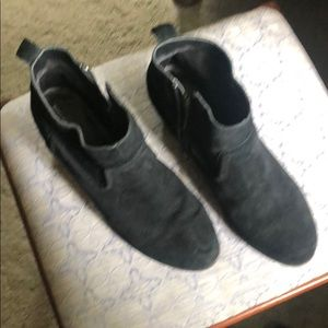 Mossimo Supply Co. Shoes - Mossimo black suede booties 10